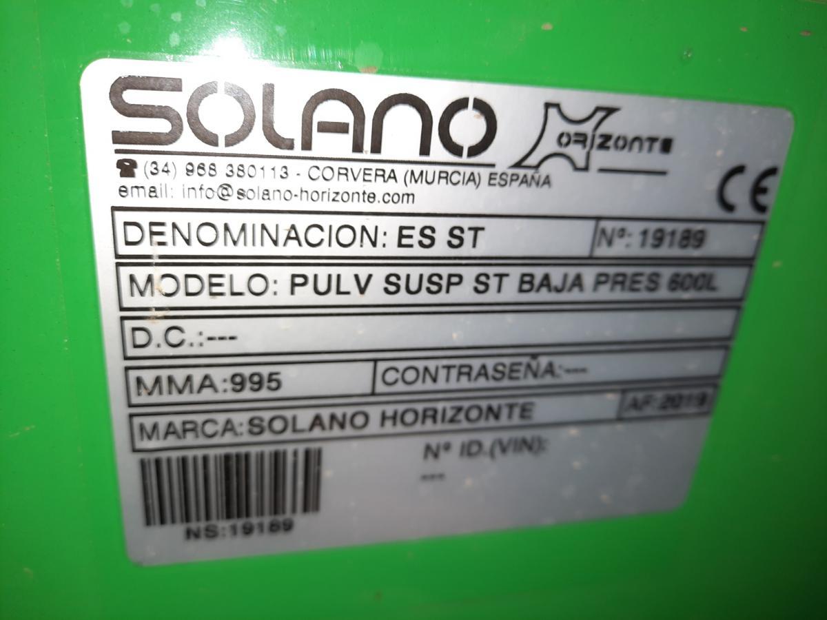 Pulvérisateur horticole SOLANO de 2019